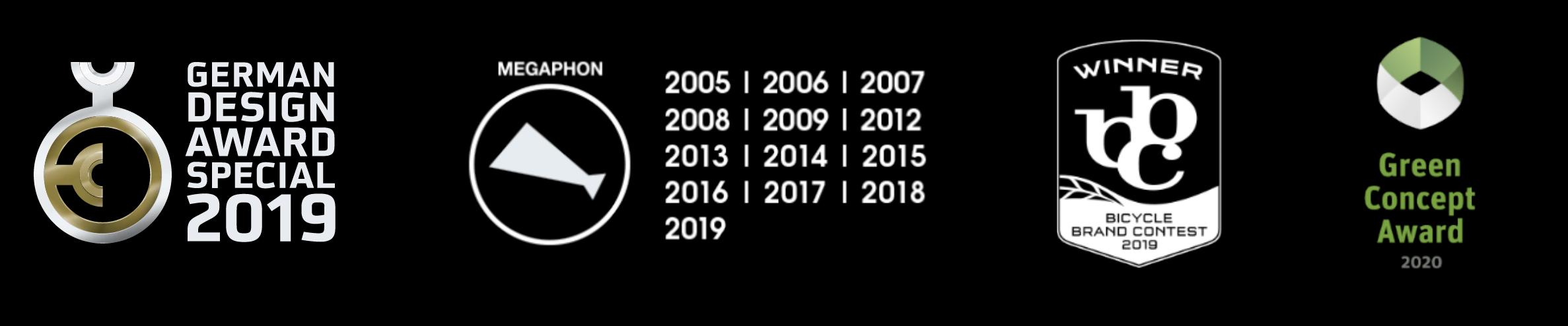 German Design Award 2019, Megaphon Award, Bicycle Brand Contest, Winner 2020